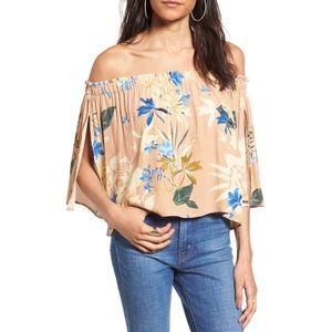 astr the label   annabelle off the shoulder blouse